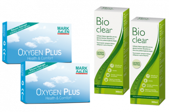 2 x MARK AaLEN OXYGEN PLUS & 2 x Bioclear