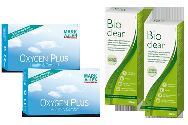 2 x MARK AaLEN OXYGEN PLUS & 2 x Bioclear