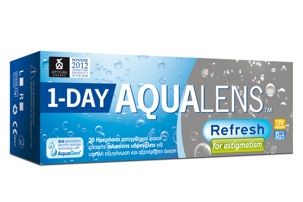 AQUALENS REFRESH 1DAY for Astigmatism