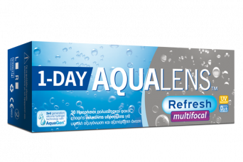 AQUALENS Refresh 1DAY Multifocal