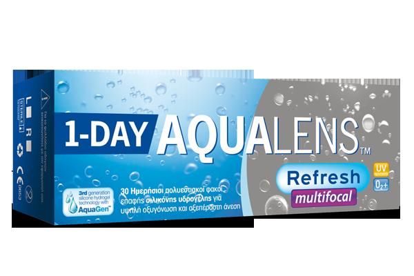 AQUALENS Refresh 1DAY Multifocal