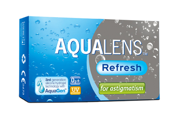 Aqualens Refresh for Astigmatism