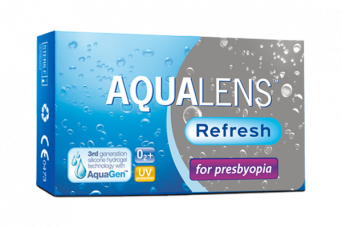 Aqualens Refresh for presbyopia