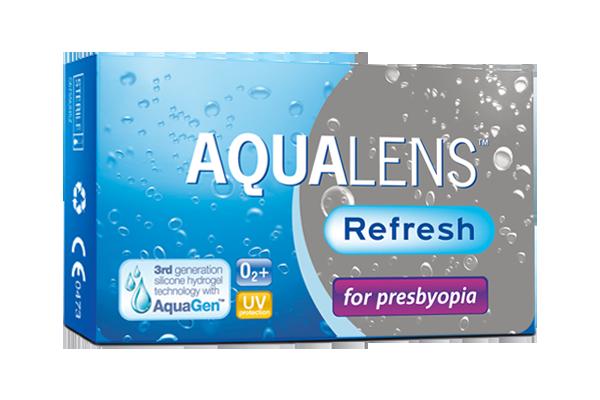 Aqualens Refresh for presbyopia